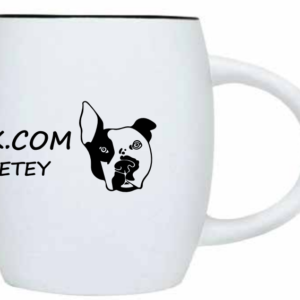 Petey The Pitbull Coffee Mug