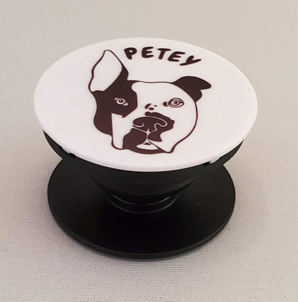 Petey the Pitbull Phone stand