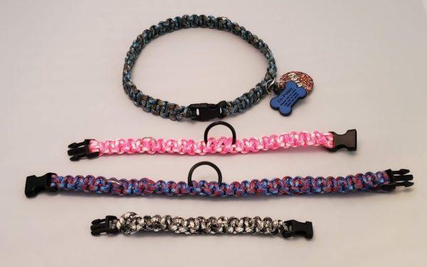 Petey's Paracord Dog Collars